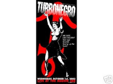 TURBONEGRO - 2003 - LINDSEY KUHN - POSTER - LIMITED