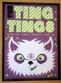 THE TING TINGS - PHILADELPHIA - MYSPACE SECRET SHOW CONCERT POSTER