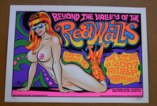 THE REDWALLS - CD - ANTIPOP    - POSTER - STAINBOY