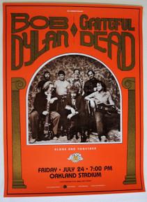 THE GRATEFUL DEAD - BOB DYLAN- OAKLAND COLISEUM - DAY ON THE GREEN- BILL GRAHAM