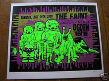 THE FAINT - JAGUAR LOVE - 2008 - OGDEN- POSTER - KUHN