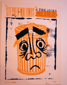 STEPHEN MALKMUS THE JICKS - SATYRICON - PORTLAND -MYSPACE SECRET SHOW POSTER -