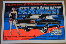 SEVENDUST - NEW YEARS 2005 - A/P 1/12 - HOB ORLANDO - TOUR POSTER - STAINBOY