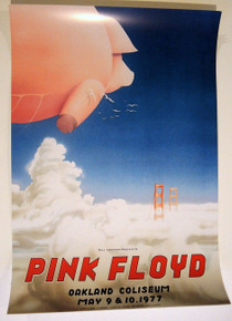 PINK FLOYD - DARK SIDE MOON - 1977   OAKLAND COLISEUM - RANDY TUTEN- BILL GRAHAM