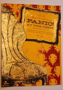 PANIC AT THE DISCO - 2006 - SYDNEY AUSTRALIA MYSPACE SECRET SHOW  CONCERT POSTER