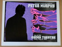 PETER MURPHY - BAUHAUS - 2005  - LINDSEY KUHN - POSTER - OGDEN - DENVER