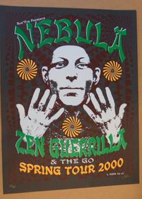 NEBULA - ZEN GUERRILLA - 2000 - THE GO -  LINDSEY KUHN -SPRING TOUR  POSTER