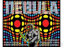 NEBULA - BLACK LAMB - POSTER - LIMITED