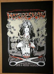MOTORPSYCHO - BELGIUM  - 2008 - POSTER - MALLEUS