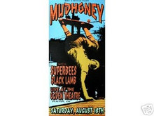 MUDHONEY - SUPERBEES  - POSTER - KUHN - LIMITED