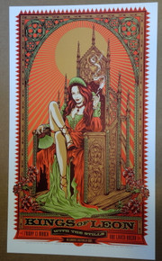 KINGS OF LEON - THE STILLS - 2009 - KEN TAYLOR - MELBOURNE - AUSTRALIA - TOUR POSTER