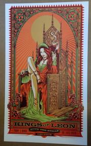 KINGS OF LEON - THE STILLS - 2009 - KEN TAYLOR - MELBOURNE - AUSTRALIA - TOUR POSTER