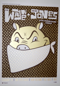 LIL WAYNE & MIKE JONES - ONE EYED JACKS - MYSPACE SECRET SHOW CONCERT POSTER