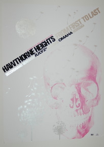 HAWTHORNE HEIGHTS - FROM FIRST TO LAST - MYSPACE SECRET SHOW CONCERT POSTER