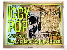 IGGY POP - 2001 - LINDSEY KUHN - SCOTTSDALE - TOUR POSTER