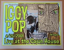 IGGY POP - 2001 - LINDSEY KUHN - SCOTTSDALE - TOUR POSTER - STOOGES