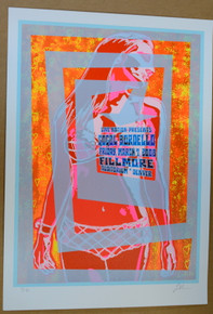 GOGOL BORDELLO - 2008 - ARTIST PROOF - FILLMORE -  DENVER - TOUR POSTER - LINDSEY KUHN