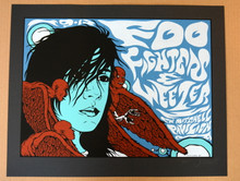 """FOO FIGHTERS - """"TEST"""" - 2005 - CW MITCHELL HOUSTON - JERMAINE ROGERS - POSTER"""