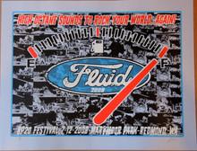 FLUID - BOSS 302 - SP20 FESTIVAL - 2008 -  REDMOND,WA- POSTER - LINDSEY KUHN