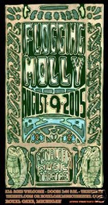 FLOGGING MOLLY - ROYAL OAK MICHIGAN - MICHAEL - POSTER