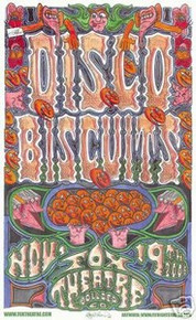DISCO BISCUITS - FOX THEATRE - BOULDER  -- POSTER