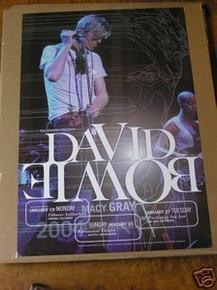 DAVID BOWIE - MACY GRAY   - POSTER  - FILLMORE DENVER