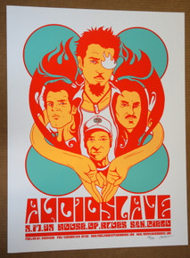 AUDIOSLAVE - TOM MORELLO - CHRIS CORNELL - SAN DIEGO O5-POSTER - JERMAINE ROGERS