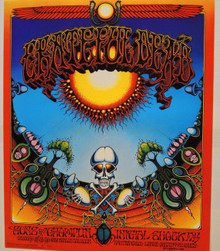 THE GRATEFUL DEAD - 1976 SECOND PRINT - EUROPEAN - AOXOMOXOA - RICK GRIFFIN -