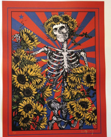 GRATEFUL DEAD - FURTHUR - RICHARD BIFFLE - JERRY GARCIA - LESH - WEIR - TOUR POSTER