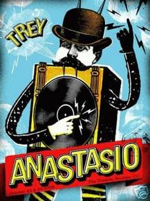 TREY ANASTASIO - PHISH - LIMITED S/N - POSTER -VOLLMAR