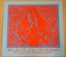 DEFTONES - 2010 - ALICE IN CHAINS - MASTODON - BLUE VARIANT -  ARTIST PROOF - VANCOUVER - JERMAINE ROGERS