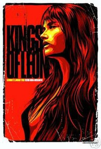 KINGS OF LEON - POSTER - NEW ZEALAND - TAYLOR - 2008