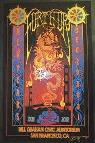 FURTHUR - NEW YEARS EVE 2011 - SAN FRANCISCO - RICHARD BIFFLE - TOUR POSTER
