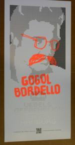 GOGOL BORDELLO - HAMBURG - GERMANY  - LARS P. KRAUSE - 2007 -TOUR POSTER