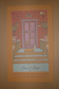 BAND OF HORSES - BERLIN - PRINTERS PROOF - LARS P. KRAUSE - 2008 -TOUR POSTER