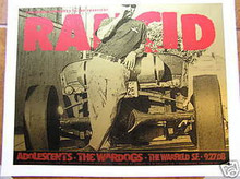RANCID - WARFIELD - WARDOGS -RON DONOVAN - 2008 - FIREHOUSE