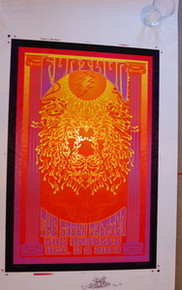 FURTHUR - GREEK THEATER - LOS ANGELES - 2011 - RICHARD BIFFLE - TOUR POSTER