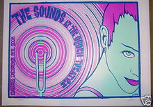 THE SOUNDS - POSTER - KUHN - 2008 - DENVER - FINLAND