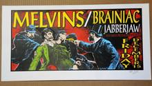 THE MELVINS -1995 -  BRAINIAC  -AP POSTER - CD- LINDSEY KUHN - JABBERJAW