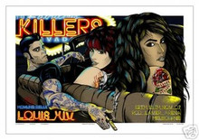 THE KILLERS - SAMS TOWN - POSTER - AUSTRALIA - 2007