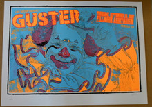 GUSTER - SATELITE - FILLMORE - DENVER  - TOUR POSTER -LINDSEY  KUHN