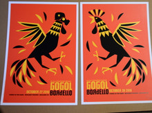 GOGOL BORDELLO - OCT 27/28 2010 - MATCHED # SET - BOULDER - DAN STILES - POSTER
