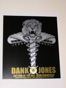 DANKO JONES - 2011 - SILKSCREEN POSTER - FIREHOUSE - RON DONOVAN - SAN FRANCISCO