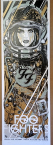 FOO FIGHTERS - RHYS COOPER - AUCKLAND - NEW ZEALAND - SONIC HIGHWAYS 2015 - TOUR POSTER