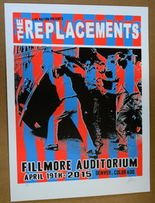 THE REPLACEMENTS - LINDSEY KUHN - FILLMORE - DENVER - 2015 - WESTERBURG - CHILTON