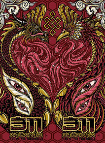 311 - 2014 - TABERNACLE - 2014 - ATLANTA - JEFF WOOD - ARTIST EDITION