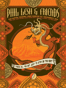 PHIL LESH AND FRIENDS - 2015 - CAPITOL THEATRE - JUSTIN HELTON - PORT CHESTER