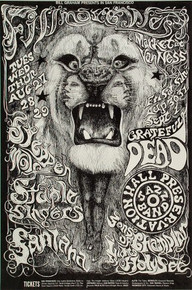 SANTANA - GRATEFUL DEAD - STEPPENWOLF - LEE CONKLIN - 1968 FILLMORE WEST - BG134