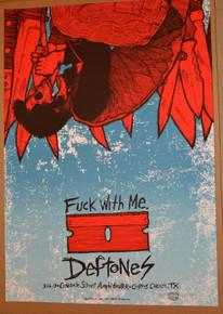 THE DEFTONES - CONCRETE STREET -CORPUS CHRISTI - JERMAINE ROGERS - 2013
