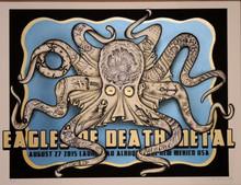 EAGLES OF DEATH METAL - 2015 - DELANO GARCIA - LAUNCHPAD - ALBEQUERQUE - POSTER
